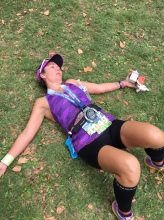 Nothing left in the tank at the Santa Rosa Marathon